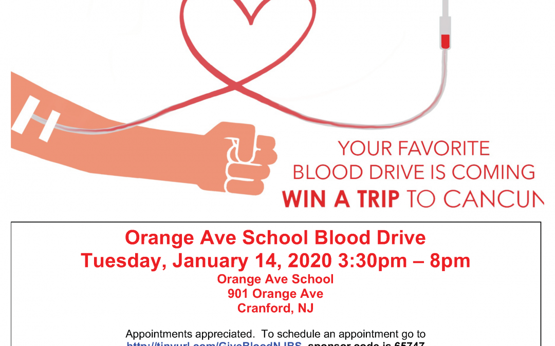 Orange Ave School Blood Drive