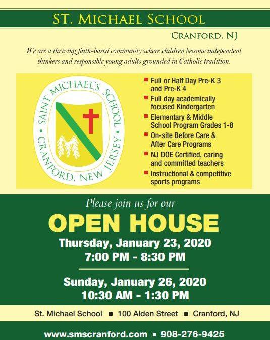 St. Michael's School Open House