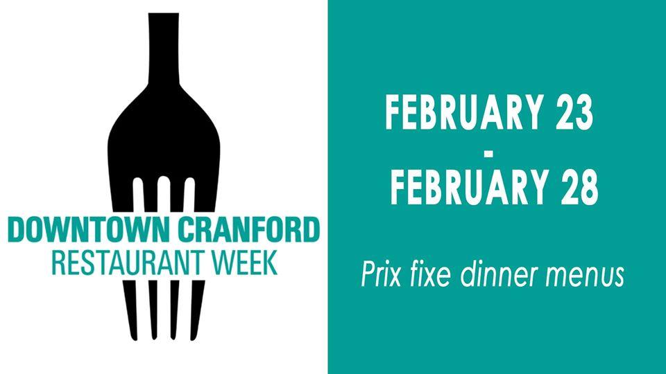 Restaurant Week in Downtown Cranford