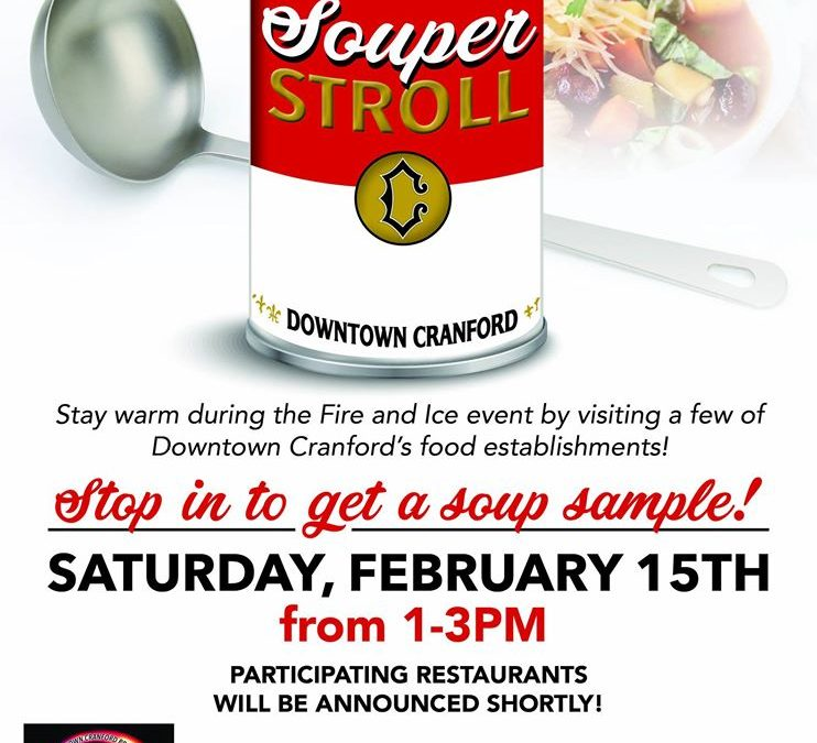 Souper Stroll in Downtown Cranford