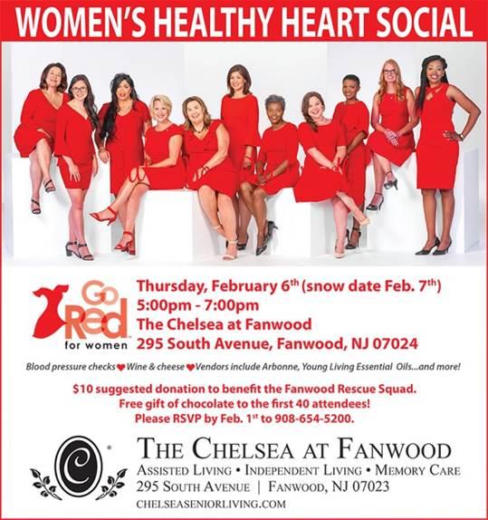 Women's Healthy Heart Social