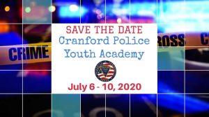 2020 Cranford Police Youth Academy @ Cranford Police Department | Cranford | New Jersey | United States