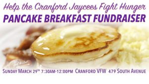 Cranford Jaycees Pancake Breakfast @ Cranford VFW | Cranford | New Jersey | United States