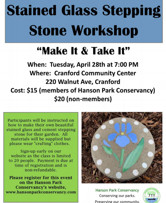 Stained Glass Stepping Stone Workshop