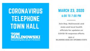 Coronavirus Telephone Town Hall @ Virtual