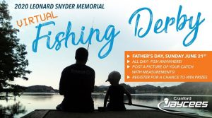 Leonard Snyder Memorial Cranford Jaycees Virtual Fishing Derby