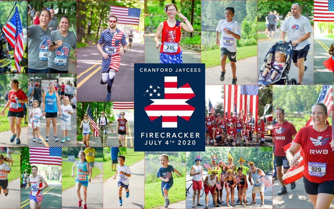 Cranford Jaycees #VirtualFirecracker Four Miler & Fun Run 2020