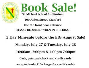 St. Michael's School Used Book Sale @ 100 Alden Street, Cranford, NJ 07016