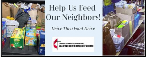Drive-Thru Food Collection @ Cranford United Methodist Church   Cranford   New Jersey   United States