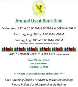 St. Michael's School Annual Book Fair @ St. Michael School Auditorium