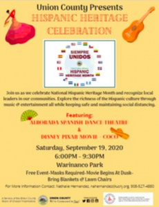 Third Annual Hispanic Heritage Celebration @ Warinanco Park