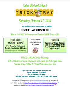 A new way to Tricky Tray at St. Michael School @ St. Michael School