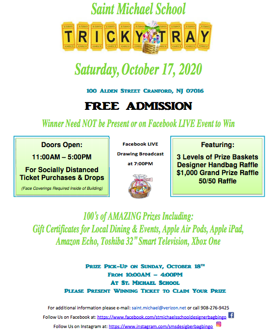 A new way to Tricky Tray at St. Michael School