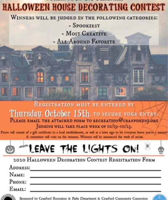 Halloween House Decorating Contest Registration – Enter by 10/15