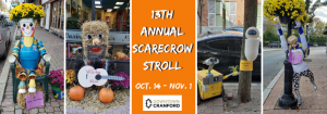 Downtown Cranford Scarecrow Stroll @ Downtown Cranford