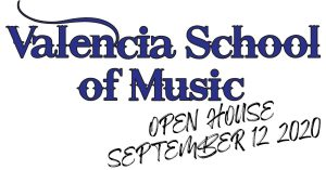 Valencia School of Music Fall Open House @ Valencia School of Music