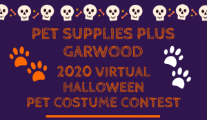 Pet Supplies Plus Garwood Virtual Halloween Pet Costume Contest @ Virtual