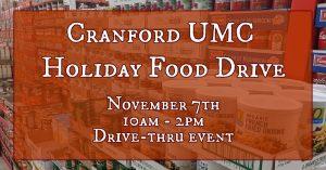 CUMC Holiday Food Drive-Thru @ Cranford United Methodist Church, NJ