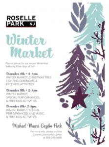 Roselle Park Annual Winter Market @ Michael Mauri Gazebo Park