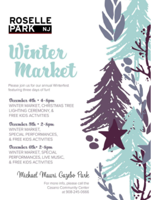 Roselle Park Annual Winter Market