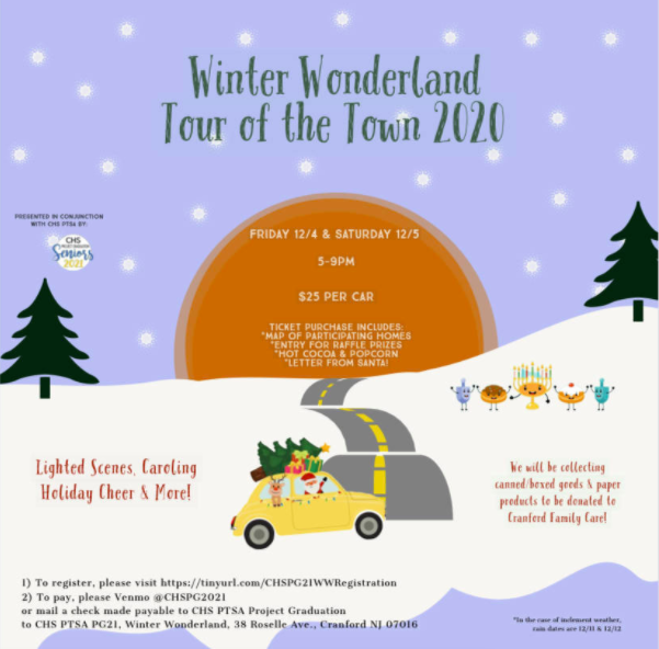 Winter Wonderland Tour of the Town 2020