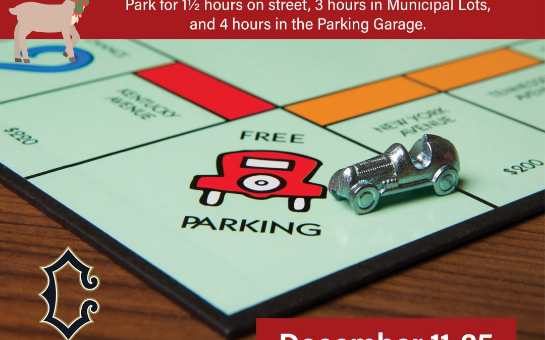 Free Downtown Cranford Parking