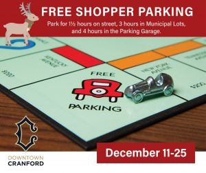 Free Downtown Cranford Parking @ Downtown Cranford | Cranford | New Jersey | United States