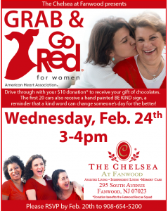Grab & Go Red for Women at The Chelsea @ The Chelsea at Fanwood