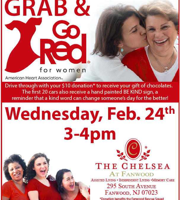 Grab & Go Red for Women at The Chelsea