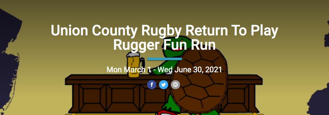 Return to Play/50th Anniversary Mudturtle Rugby Fundraiser Fun Run