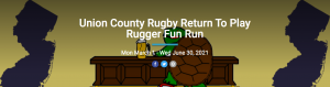 Return to Play/50th Anniversary Mudturtle Rugby Fundraiser Fun Run @ Virtual
