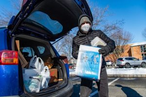 Drive-Thru Food Collection @ Cranford United Methodist Church