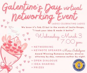 Galentine's Day Virtual Networking Event @ Virtual