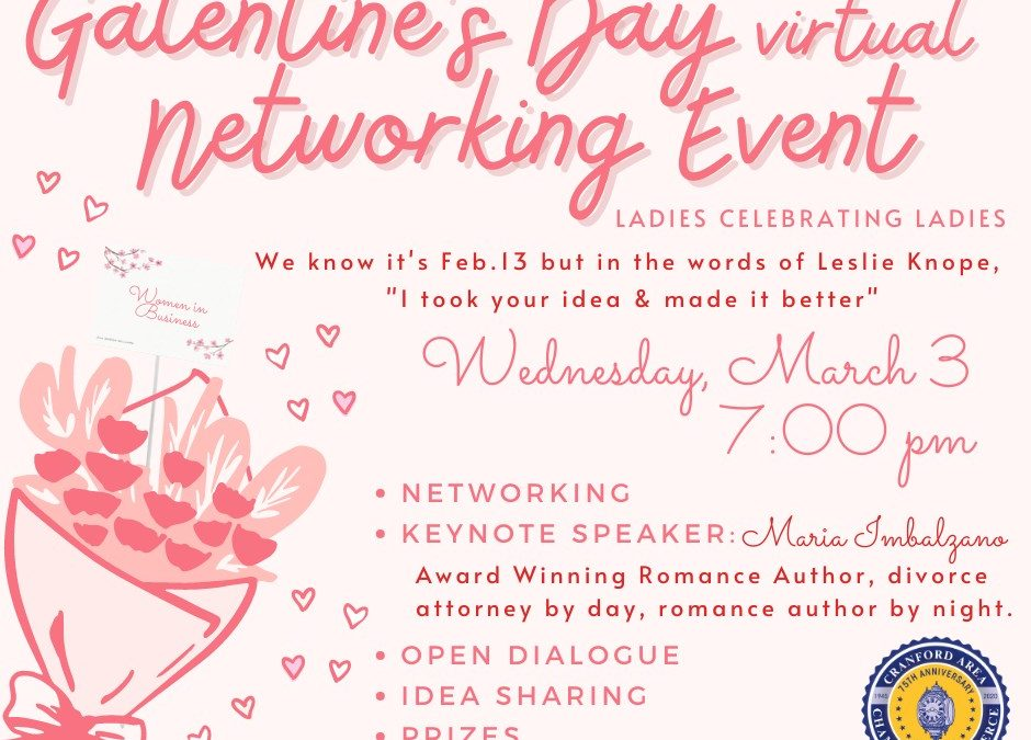 Galentine's Day Virtual Networking Event
