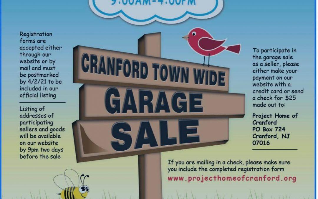 Cranford Town-Wide Garage Sale