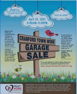 Cranford Town-Wide Garage Sale @ Cranford, NJ