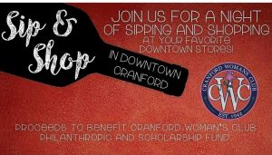Sip & Shop @ Downtown Cranford