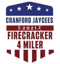 Cranford Jaycees Firecracker Four-Miler and Fun Run @ Nomahegan Park