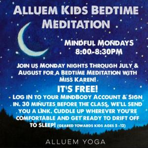 Alluem Kids Bedtime Meditation @ Virtual