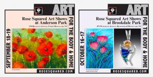 22nd Rose Squared Art Show Brookdale Park @ Brookdale Park
