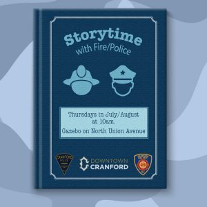 Storytime with the Police & Fire Departments