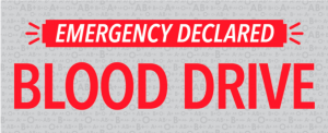 Emergency Blood Drive @ Cranford Community Center