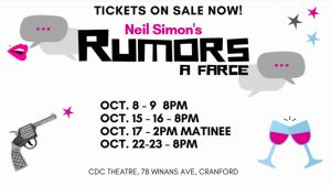 Neil Simon's Rumors @ CDC Theatre