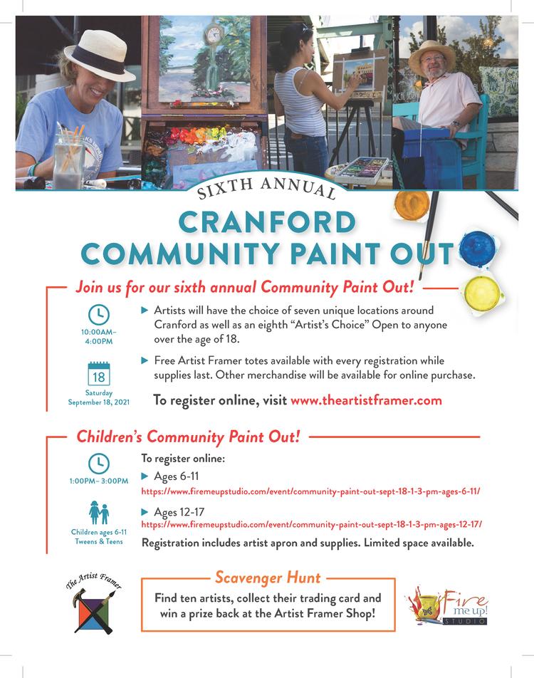 Cranford Community Paint Out @ Cranford