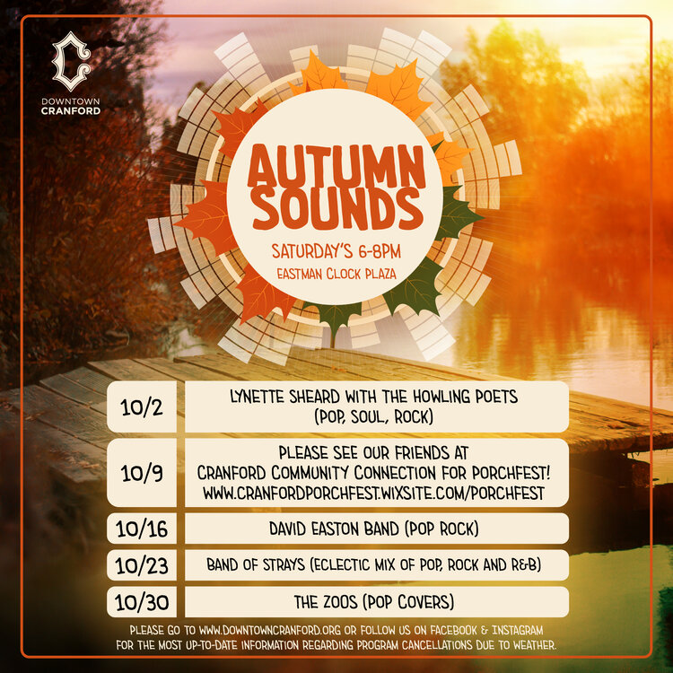 Autumn Sounds @ Eastman Clock Plaza | Cranford | New Jersey | United States